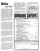 Sunshine Artists, U.S.A.