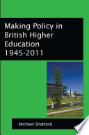 Ebook Making Policy In British Higher Education 1945 2011