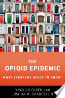 link to The opioid epidemic in the TCC library catalog