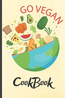 Funny Blank Vegan Recipe Book   Go Vegan