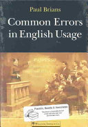 Common Errors in English Usage ebook