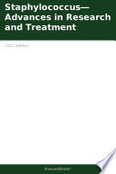 Staphylococcus   Advances in Research and Treatment  2012 Edition