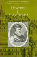 Universities in Tudor England