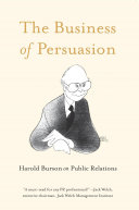 The Business of Persuasion