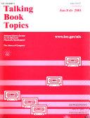 Talking Book Topics Book