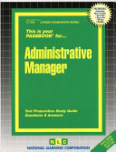 Administrative Manager