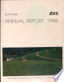 Summary Annual Report 1988
