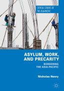 Asylum  Work  and Precarity