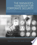 The Manager's Handbook for Corporate Security