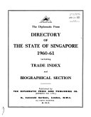 The Diplomatic Press Directory of the State of Singapore