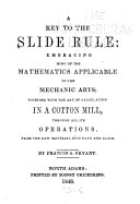 A Key to the Slide Rule