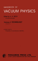 Handbook of Vacuum Physics