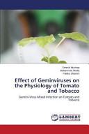 Effect of Geminviruses on the Physiology of Tomato and Tobacco