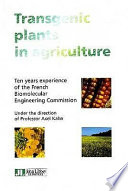 Transgenic Plants in Agriculture