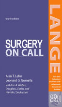 Surgery On Call  Fourth Edition