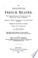 An Analytical French Reader
