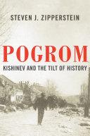 Pogrom: Kishinev and the Tilt of History Pdf/ePub eBook