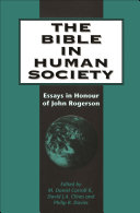 The Bible in Human Society