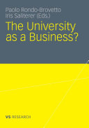 The University as a Business