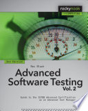Advanced Software Testing   Vol  2  2nd Edition Book