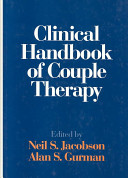Clinical Handbook of Couple Therapy Book