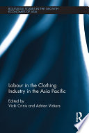 Labour in the Clothing Industry in the Asia Pacific