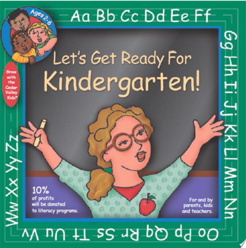 Let's Get Ready for Kindergarten! banner backdrop