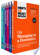 HBR s 10 Must Reads for the Recession Collection  6 Books