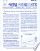 Engineering Doctoral Awards Reached Record High In 1987