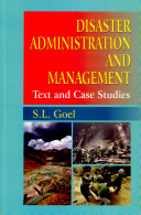 Disaster Administration and Management Book