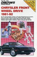 Chrysler LWD  81 92