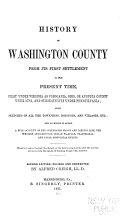 History of Washington County