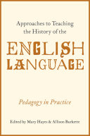 Approaches to Teaching the History of the English Language