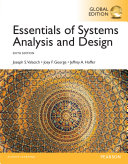 Essentials of Systems Analysis and Design  Global Edition