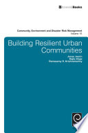 Building Resilient Urban Communities
