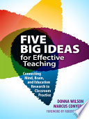 Five Big Ideas For Effective Teaching Book