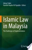 Islamic Law In Malaysia