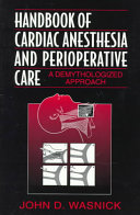 Handbook of Cardiac Anesthesia and Perioperative Care Book