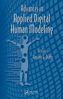 Advances in Applied Digital Human Modeling [Pdf/ePub] eBook