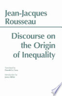Discourse On The Origin Of Inequality Book PDF