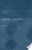 Lawyers Language