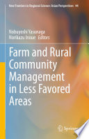 Farm and Rural Community Management in Less Favored Areas