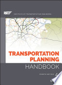 Book Cover: Transportation Planning Handbook