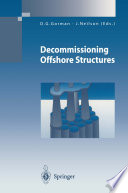 Decommissioning Offshore Structures Book PDF