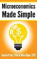 Microeconomics Made Simple Book PDF