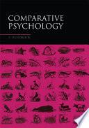 Comparative Psychology Book
