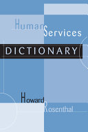 Human Services Dictionary
