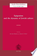 Epigonism and the Dynamic of Jewish Culture