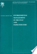 Environmental Management In The Pulp And Paper Industry