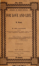 Pdf For Love and Life